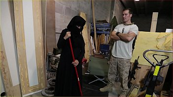tour of boy licking girl pussy booty - us soldier takes a liking to sexy arab servant