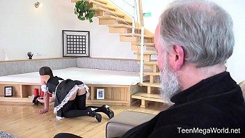 old-n-young.com - myfreewebcam lita phoenix - sexy maid serves old man