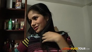 real colombian m perfectgirl amateur teen gets a surprise facial