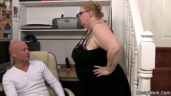ww redwap com heavy lady boss with glasses rides his dick