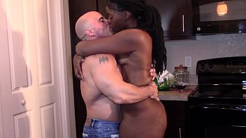 black beauty with a big booty grinding xexx dick till orgasm interracial