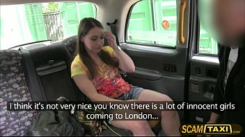 horny olga rides a cab and gets pounded hard in the sandwich massage video backseat by the pervy driver