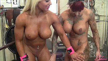 female vifxxx bodybuilder lesbians tattoos and tits