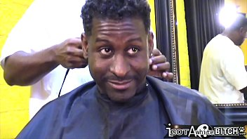 throwback - six video cards 2018 summer get gangbanged in the barber shop
