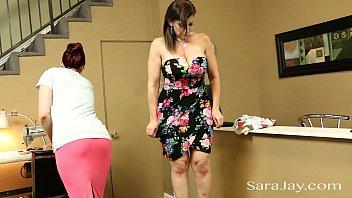 horny seamstress jacqueline fernandez sex licks up sara jay