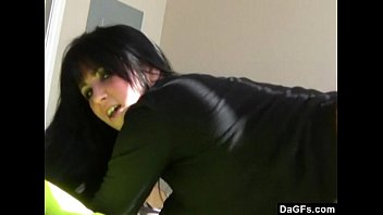 cute emo shakes her ass on webcam while she s pron home alone