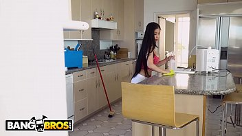 bangbros - asian maid jade kush fucks her creeper client after sec videos cleaning house