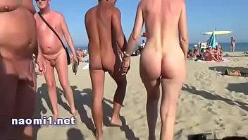 public beach milfs grab back cap agde by naomi slut