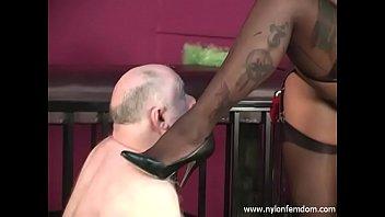 ebony nylon mistress sexyvedio with slave