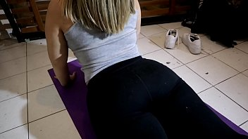i went to see a yoga class just to creampie xxxsexy my teacher s fat ass