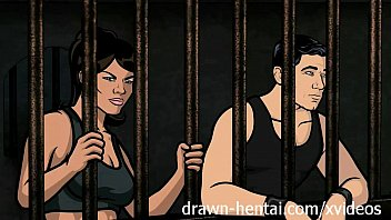 sex cim archer hentai - jail sex with lana