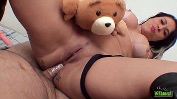 fudendo o rabo de soraya carioca no pov - boob massage video binho ted