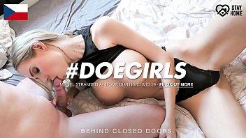 doegirls - florane russell - homemade sex fun on quarantine with a czech busty babe prono videos and her real boyfriend