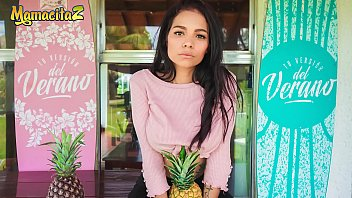 mamacitaz - que delicia this sweet teen latina barely can handle logan salamanca s pprn videos cock - mila garcia