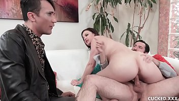 big tits brunette babe sovereign fucksex syre cucks her husband by fucking her doctor