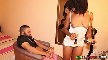 makeup artist sex amerika video got fucked by a nollywood film producer - nollyporn