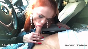 busty xxxp beauty blakclotus0508 sucked in the car in the parking lot