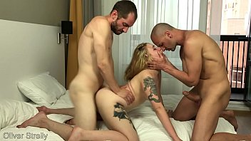 d. tight young student girl was rough pron vidios fucked by two friends. double pussy penetration. bella mur