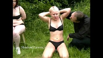 outdoor excercised spanking and extreme public corporal xxxadult punishment of two