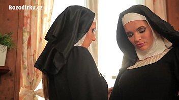 man sucking womans boobs beautiful nuns enjoying lesbian adventure