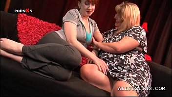 xhemaster sexy bbw mature lesbos making out with lust