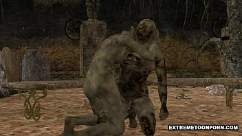 xvide9s 3d zombie gets fucked hard in a graveyard