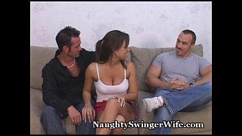 hubby www n xxx surprised by swinger wife