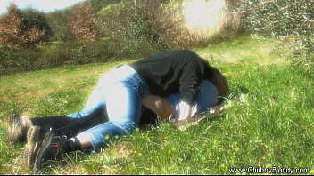 making love p0rno on the grass