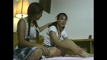 she comforts her girlfriend licking www sexvideos co her pussy