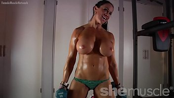 naked female bodybuilder loves showing sunny leone naked fucked off her huge tits