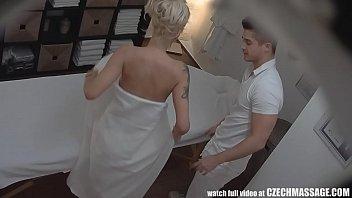 beautiful big tits sex pornd blonde on czech massage