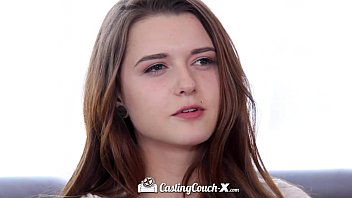 castingcouch-x - petite alex mae gets her first dick nude cosplay in the industry