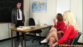 ponehub schoolgirl cfnm wanking teachers cock