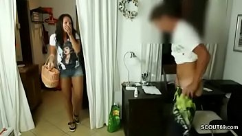 german nxnx mom caught young step-son masturbate and get fucked
