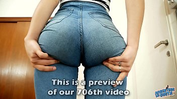 amazing teen ass www sex video dot com in super tight jeans and perfect cameltoe