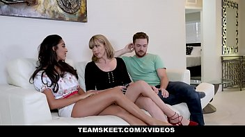 badmilf - jealous stepmom fucking stepson wwxw and his girlfriend
