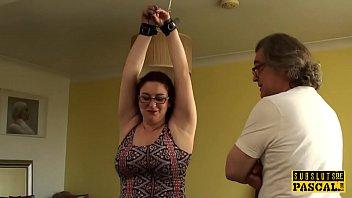 chubby british sub cumswallows xnxx viedo com after roughsex