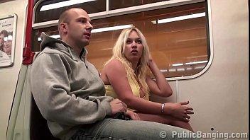 big tits girl stella fox public sex threesome in a subway train sex viedo with 2 guys