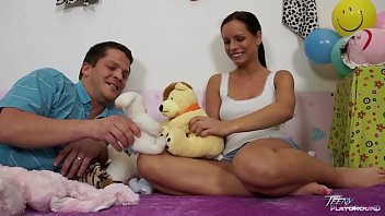 teenyplayground sexflim super hot teen kari fucked by older ugly man in her bed