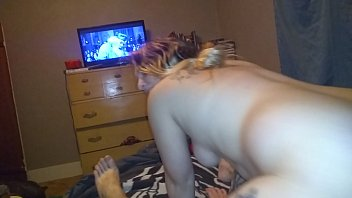 xxxxxxn wife uses her big ass.. reverse cowgirl with big dick