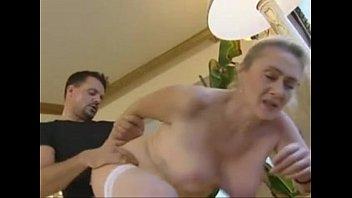 xvxxx german blonde mature anal and creampie