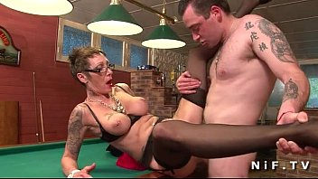 big boobed french mature with tattoo sex vidoes s gets banged