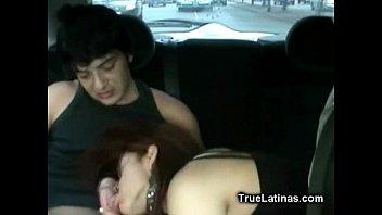 horny pornetube latina backseat fucking