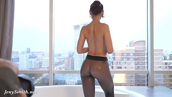 jeny smith in wet naked girls naked boys pantyhose on her naked body in the bathroom