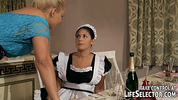 youforn brandy smile punishes the stealing housemaid