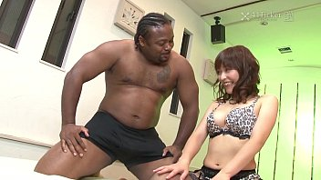 41ticket - yui ayana fucks black and xxx vidoes asian dick in threesome uncensored jav