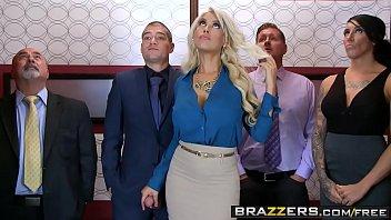 brazzers mothersex - big tits at work - bridgette b xander corvus - stuck in the elevator