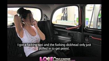 love creampie xxvideso 2019xx british slut gives fake taxi driver deep blowjob before anal
