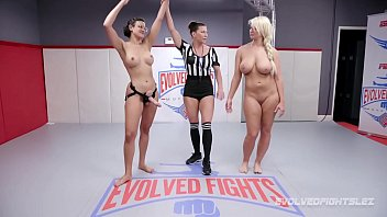 london river wrestles penny barber and gets beat pussy licking gif and fucked
