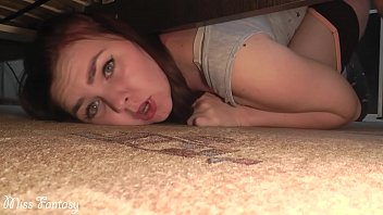 stuck under the bed xxxx video and was fucked in a wet pussy